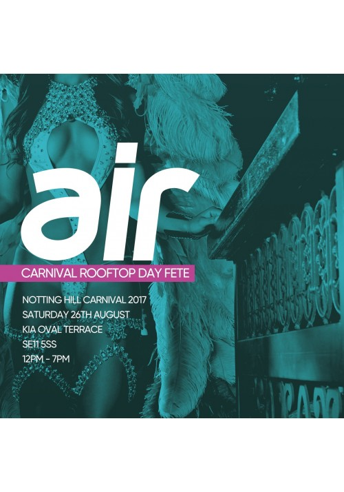 AIR : CARNIVAL ROOFTOP DAY FETE